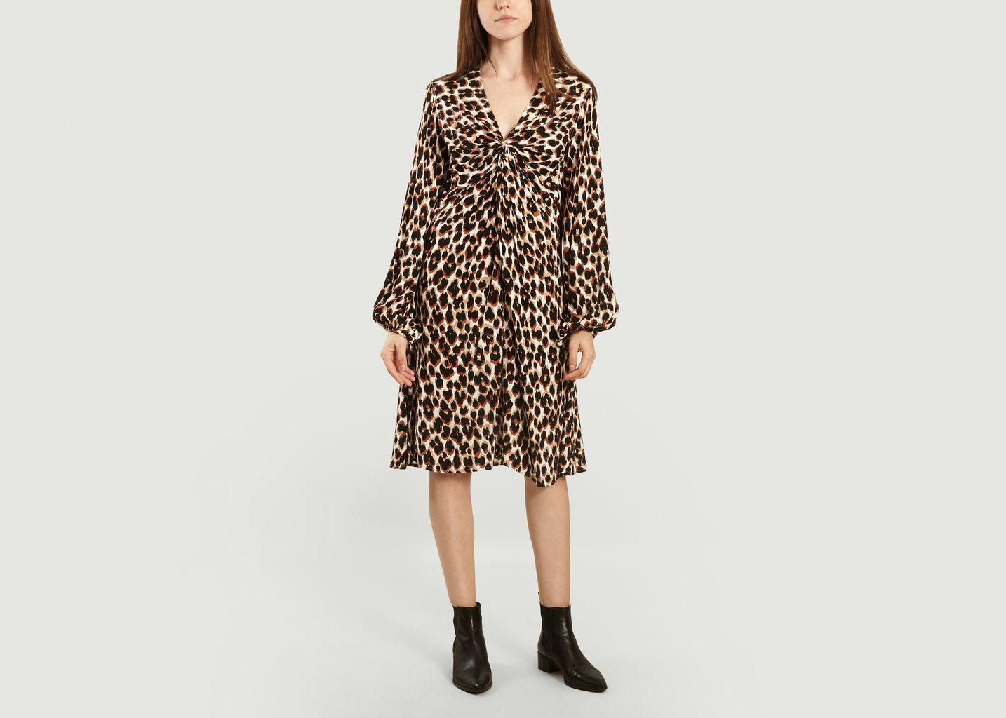 Robe imprimé léopard Freesios - By Malene Birger