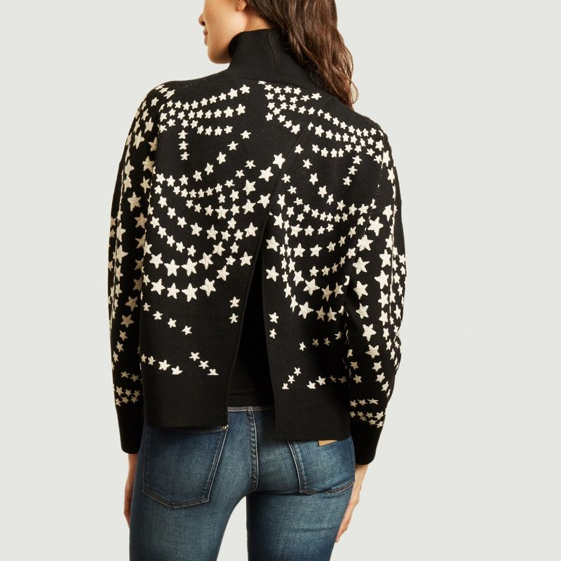 Pull maille jacquard motif étoiles Beesia - By Malene Birger
