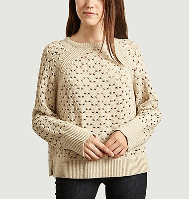 Pull maille ajourée Acis