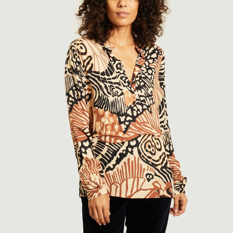 Blouse imprimée Carcassonne - By Malene Birger