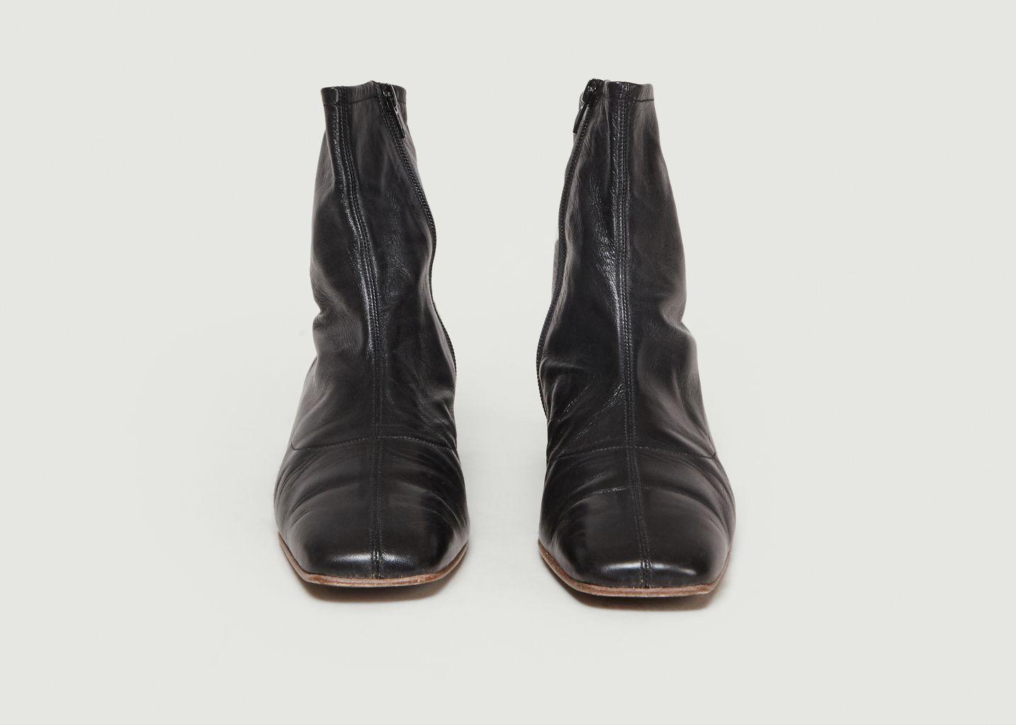 Boots En Cuir Este - By FAR