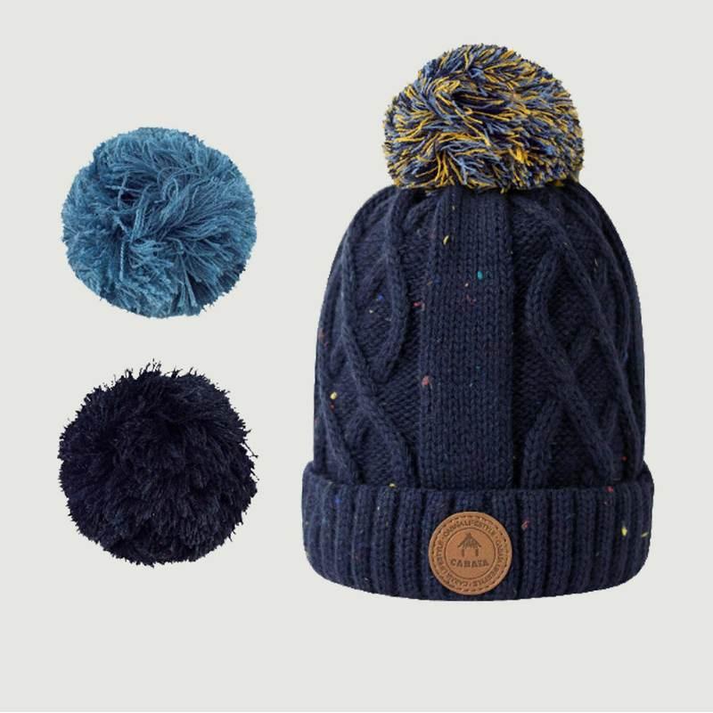 Bonnet Appletini Avec 3 Pompons - Cabaïa