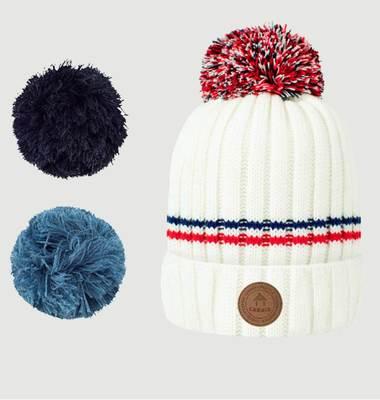Bonnet Avec 3 Pompons Manhattan