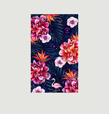 Papeete cotton beach towel