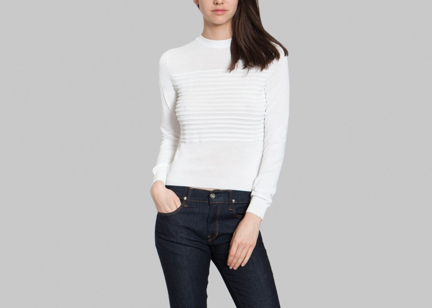 Pull Maille Barbie - Cacharel