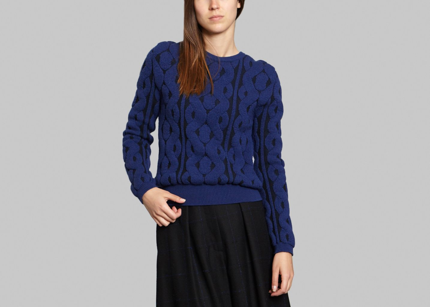 Maura Cable Knit Jumper - Cacharel