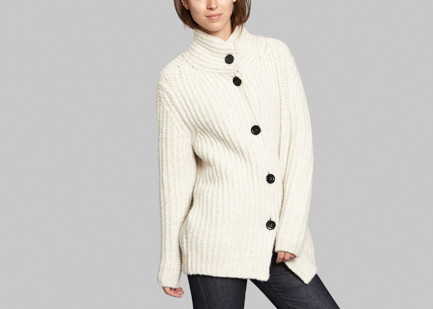 Manteau en Laine - Cacharel