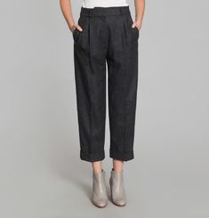 Herringbone Pants