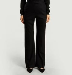 Pantalon Droit Jambe Large