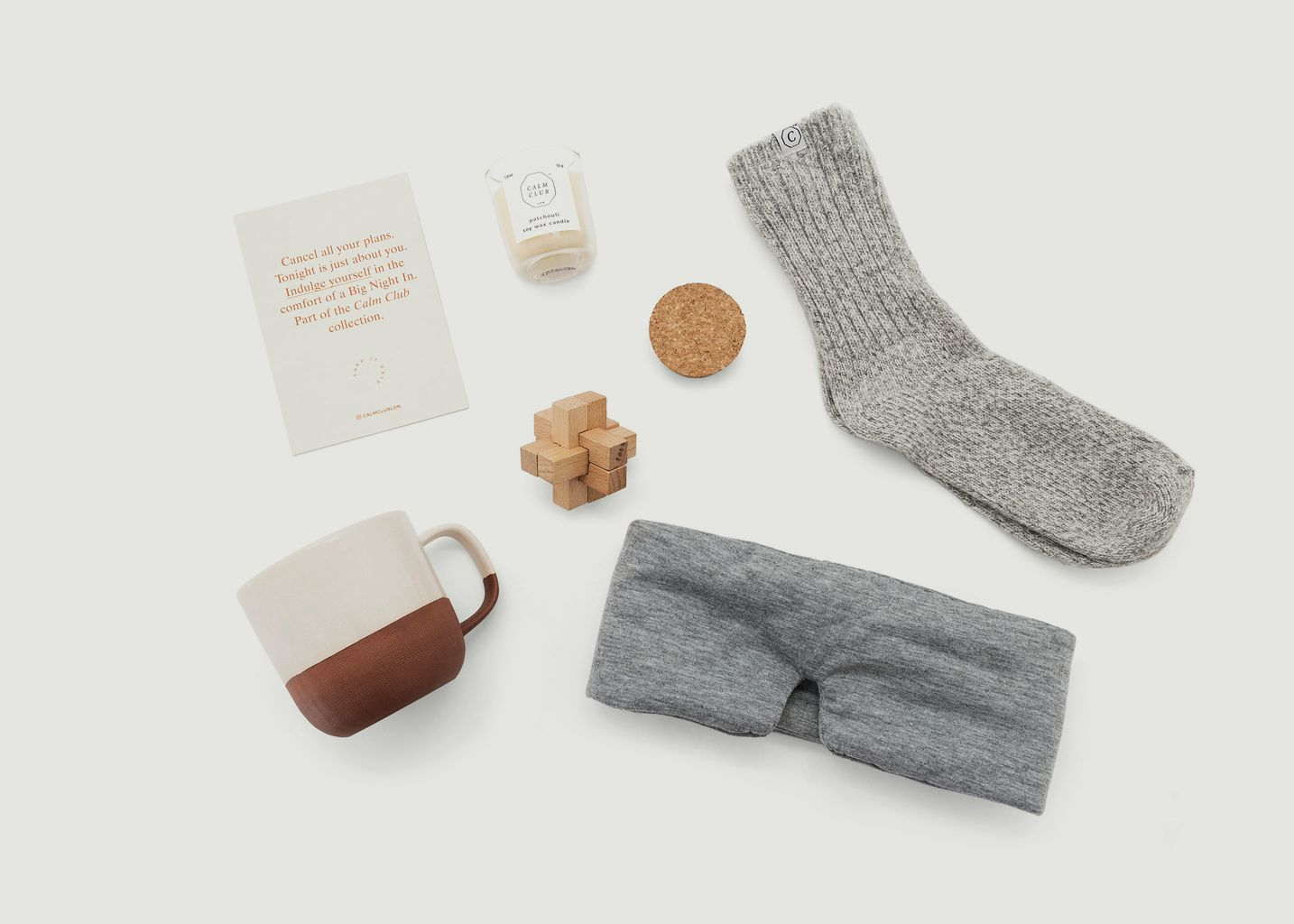 Kit Soirée Cosy - Calm Club by Luckies