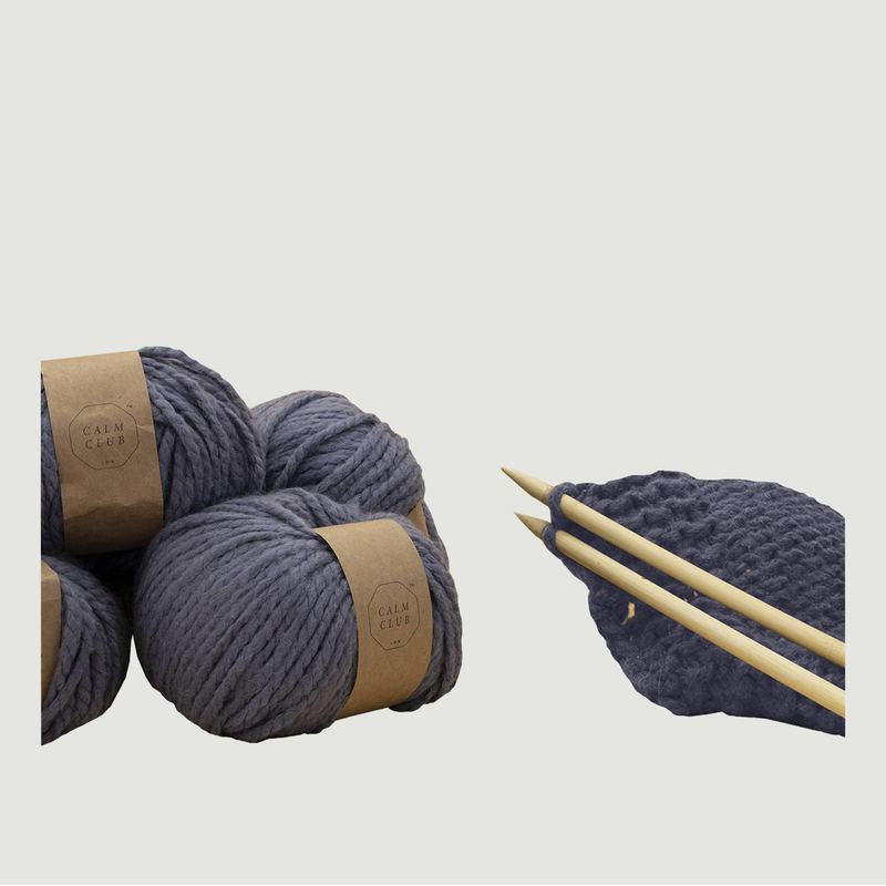 Kit Tricot Couverture - Calm Club by Luckies