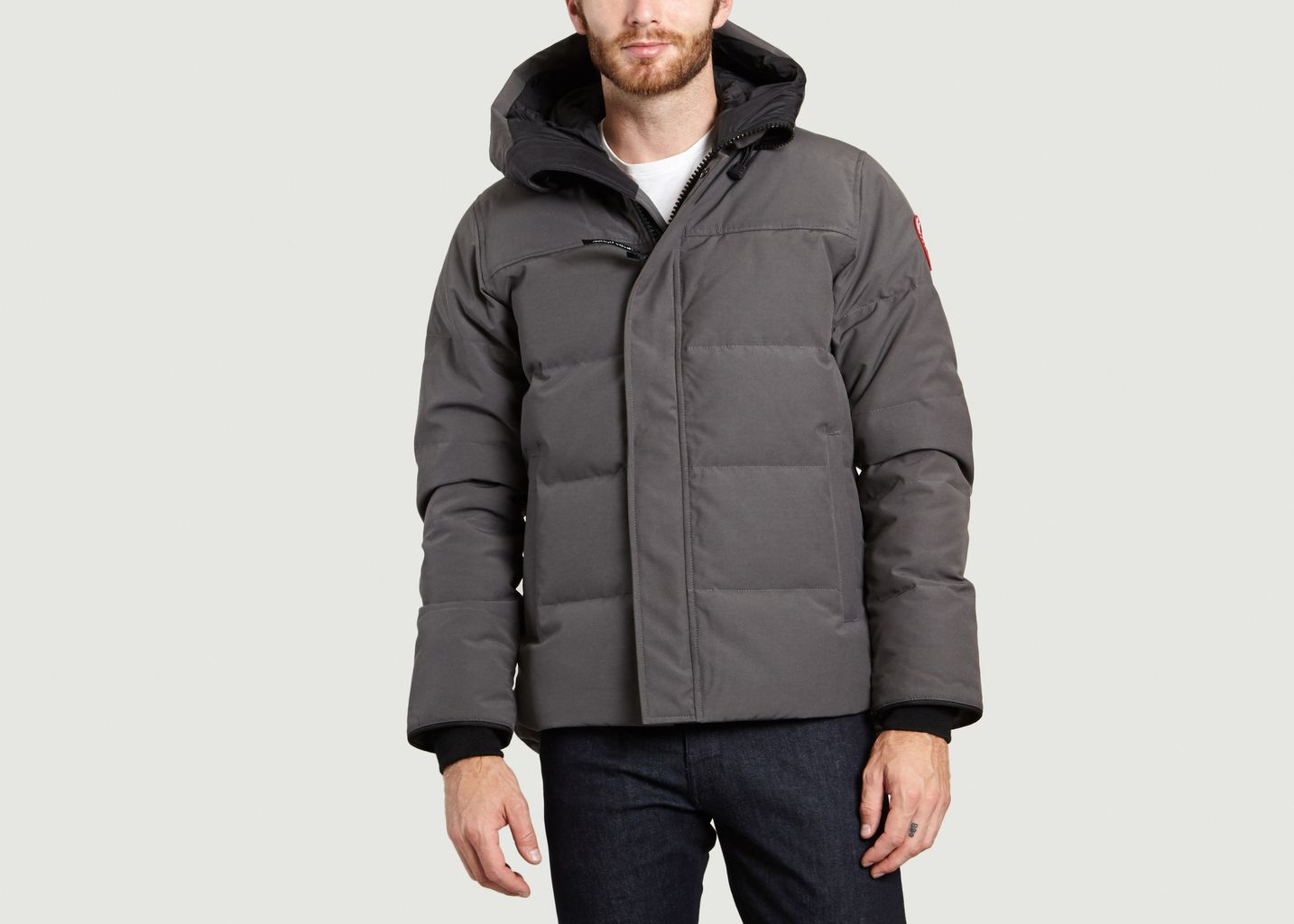 Canada Parka L'exception Anthracite Goose Macmillan AwXBFBqY
