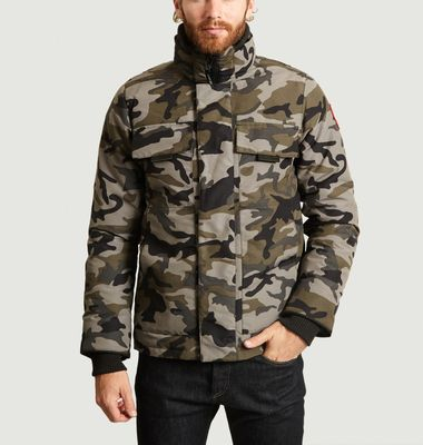 Parka Courte Motif Camouflage Forester
