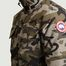 matière Parka Courte Motif Camouflage Forester - Canada Goose