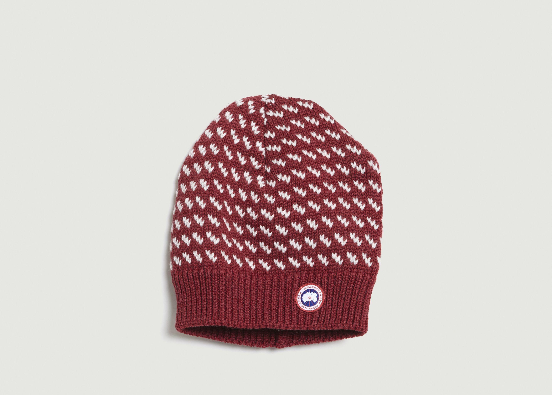 bonnet canada goose rouge