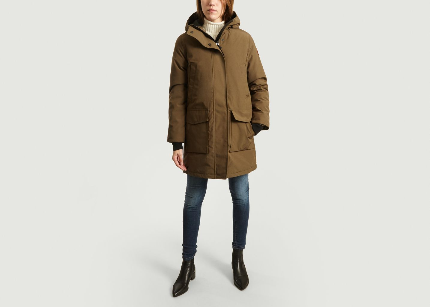 Parka Canmore Patchs Cordura Manches et Epaules - Canada Goose