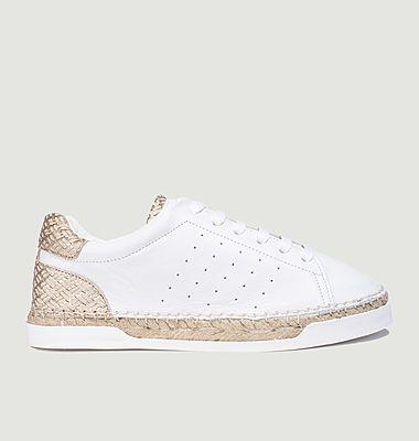 Sneakers en cuir Lancry