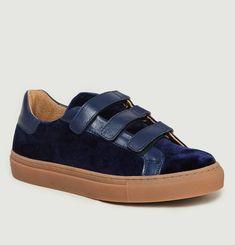 Sneakers Malte En Velours