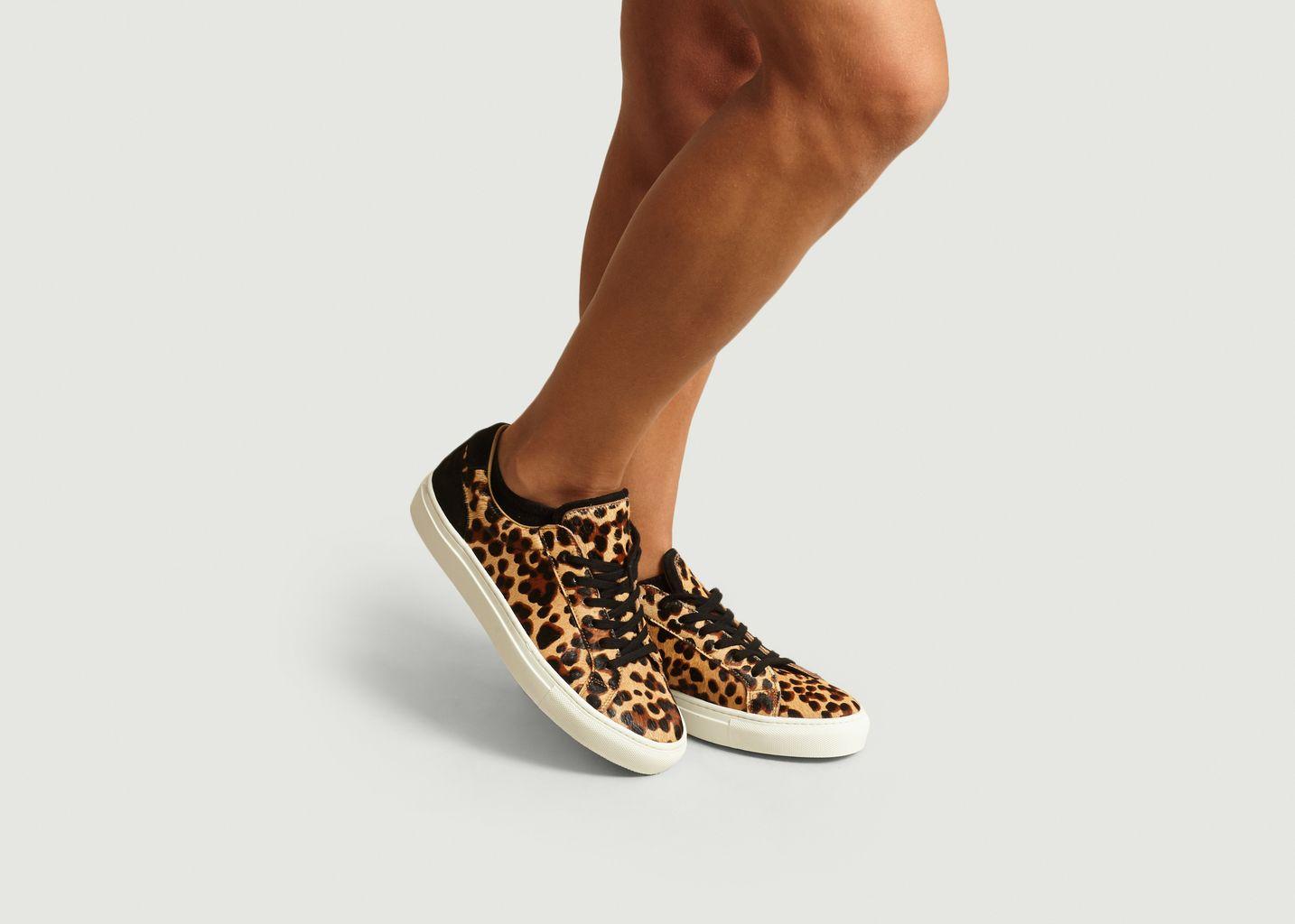 Sneakers Léopard Eugène - Canal Saint Martin