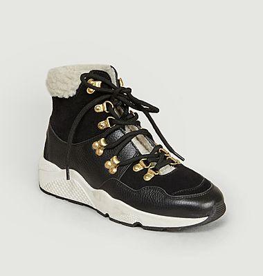 Sneakers montantes fourrées Taylor