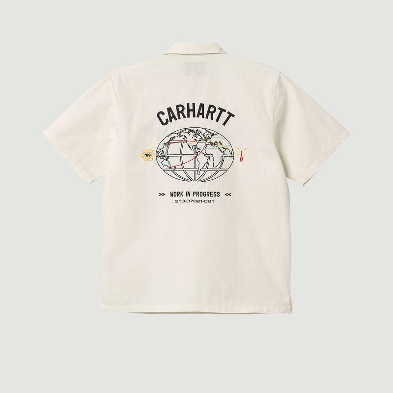 Chemise manches courtes en coton Cartograph - Carhartt WIP