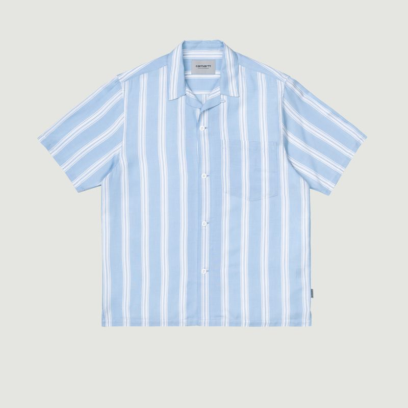 Chemise manches courtes rayée Foley - Carhartt WIP