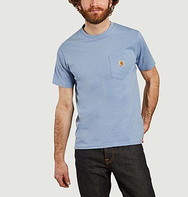 T-shirt à poche siglée