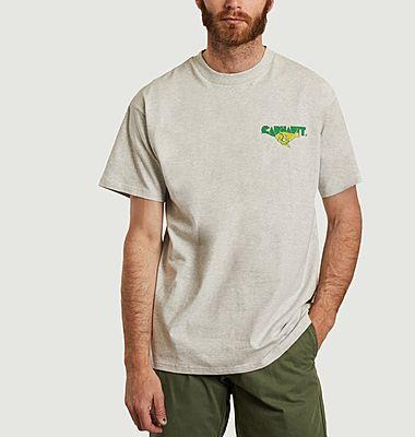 T-shirt imprimé en coton bio Runner