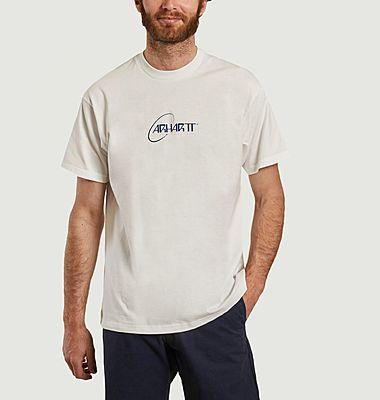 T-shirt imprimé en coton bio Orbit