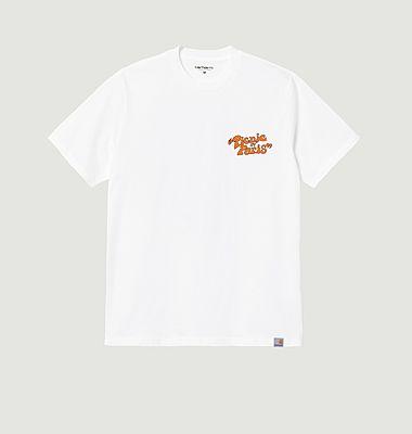 T-shirt imprimé en coton bio Picnic In Paris
