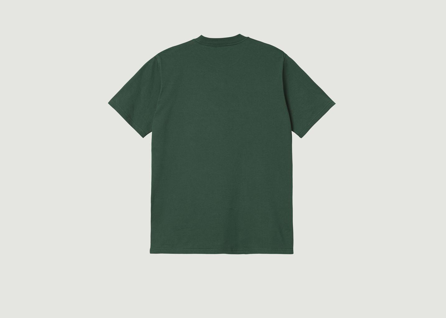 T-shirt imprimé en coton bio Flat Tire - Carhartt WIP
