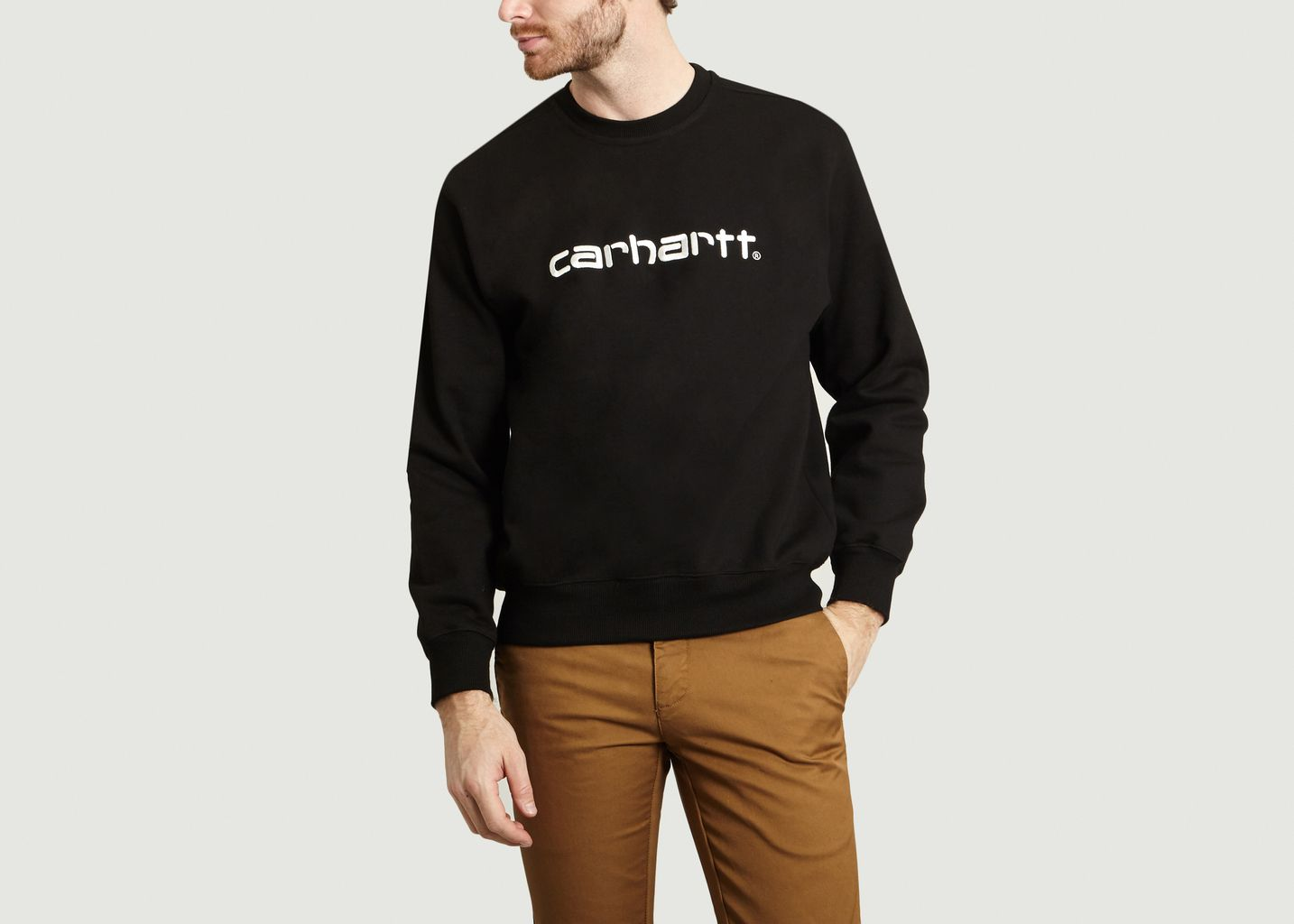 Sweat Carhartt Noir Carhartt WIP | L'Exception