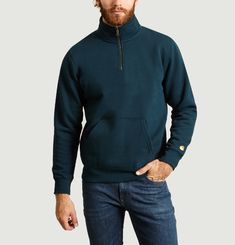 Sweatshirt Neck Zip Chase