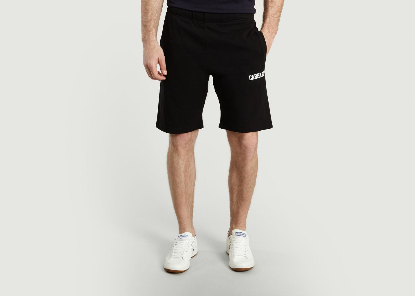 50 Soldes Short Sweat Carhartt Noir College À Wip L'exception 0rPdwqr