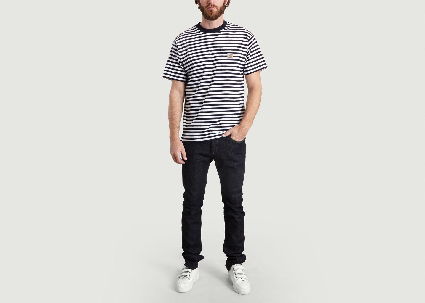 T-Shirt Rayé Barkley - Carhartt WIP