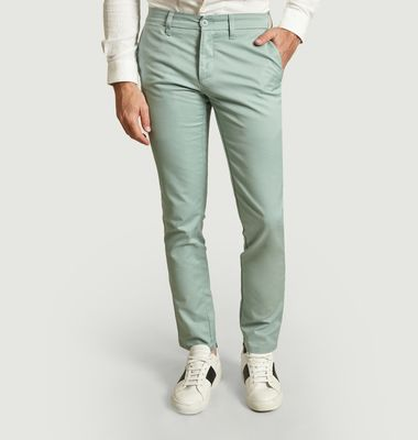 Pantalon chino slim fit Sid