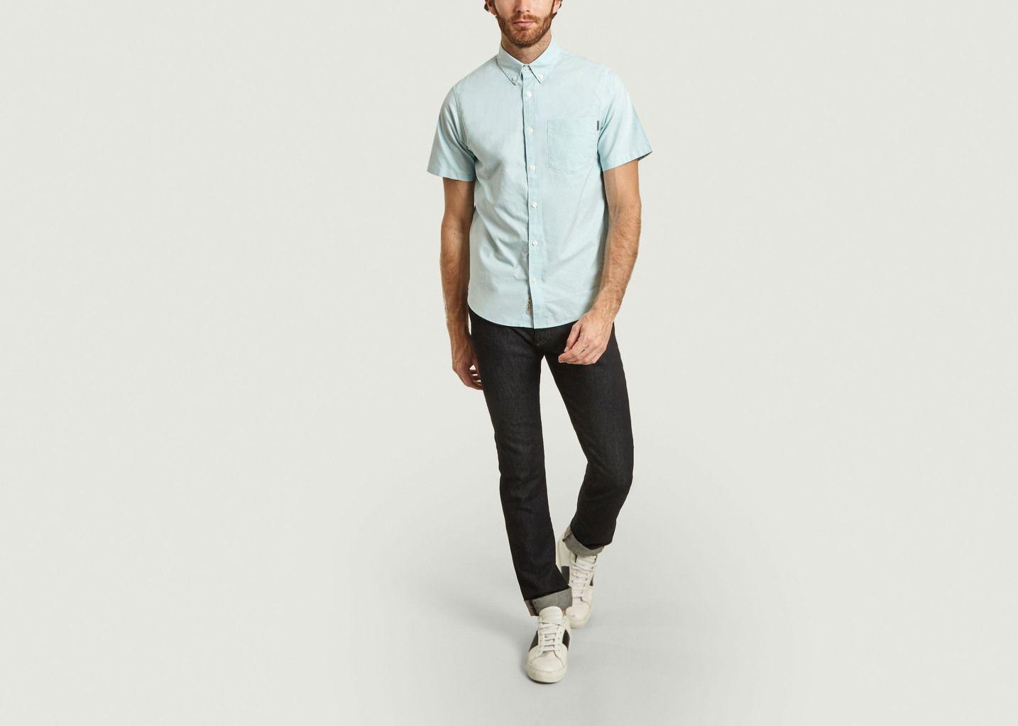 Chemise manches courtes en coton Oxford à poche - Carhartt WIP