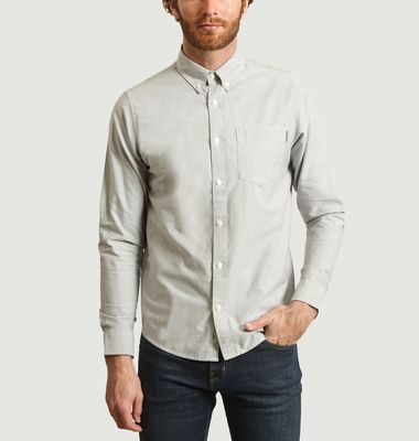 Chemise en coton Oxford slim fit