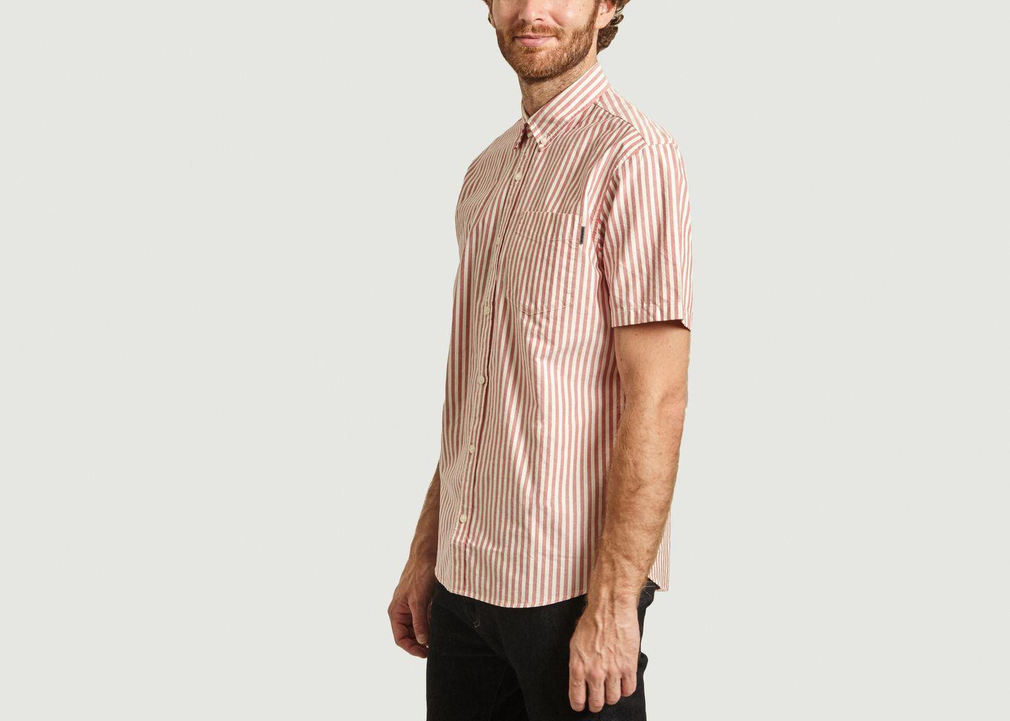 Chemise manches courtes rayée Simon - Carhartt WIP