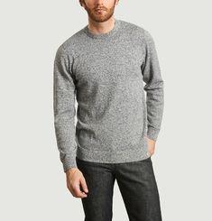 Toss heathered knit sweater