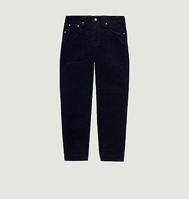 Pantalon Newel Corduroy bleu marine