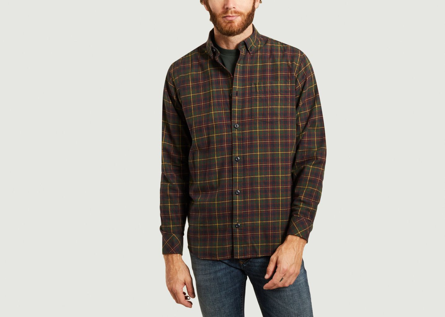 Chemise Huffman carreaux  - Carhartt WIP