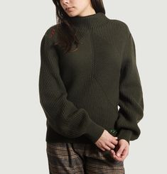 Geometric Knit Jumper