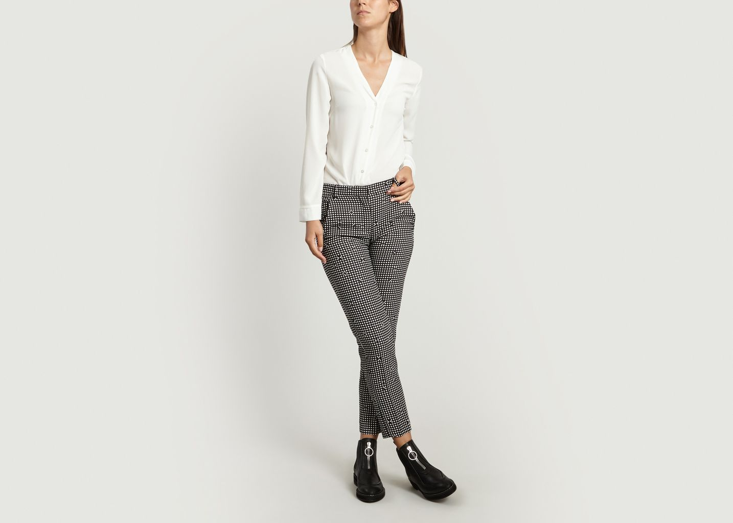 Pantalon Vichy - Carven