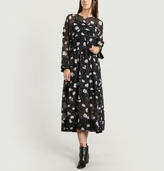 Midi Voile Dress