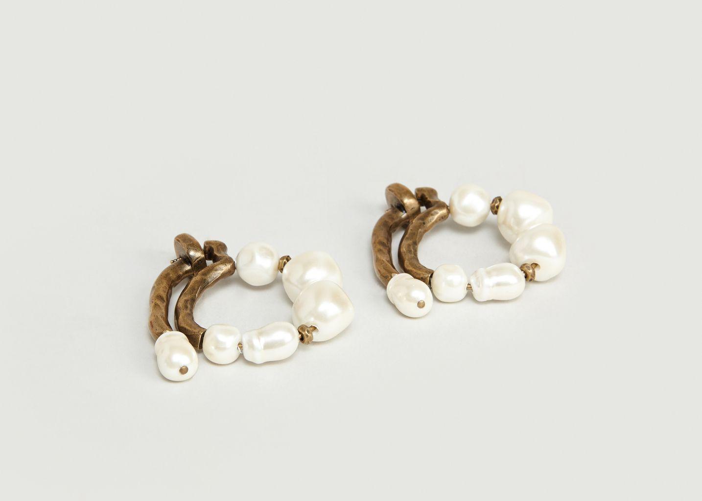 Boucle d'Oreilles Perles - Carven