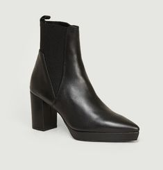 Bottines En Cuir Olga