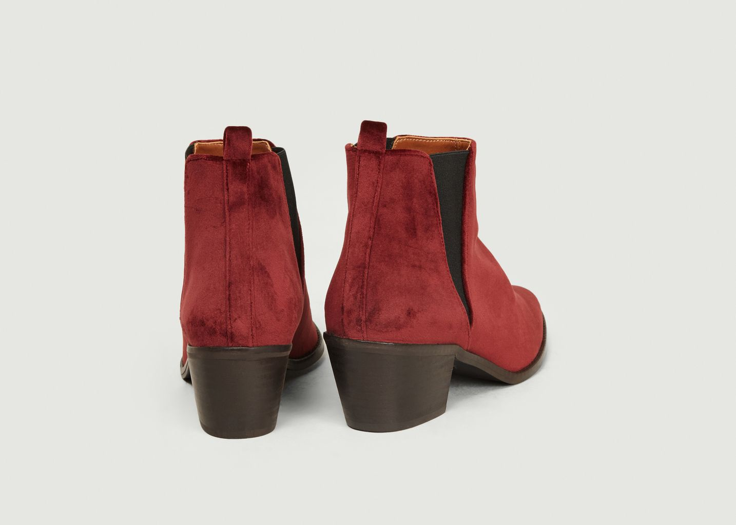 Bottines En Velours Gabriela  - Castañer