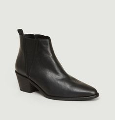 Bottines En Cuir Gabriela