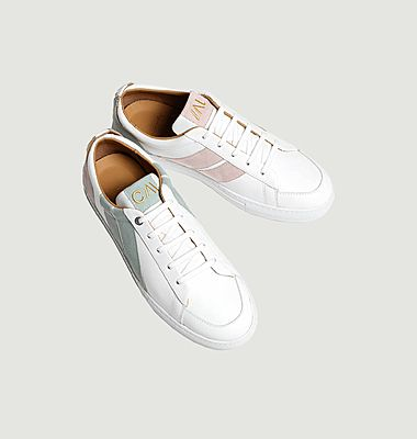 Sneakers Pastel Flamingo